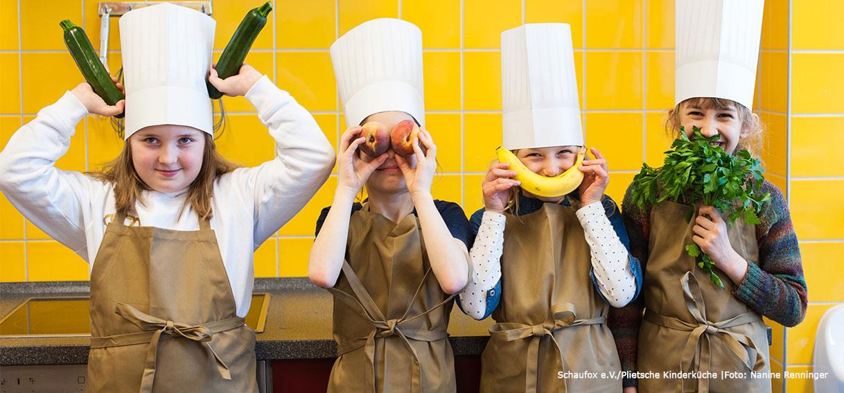 Schaufox e.V./Plietsche Kinderküche. Foto: Nanine Renninger