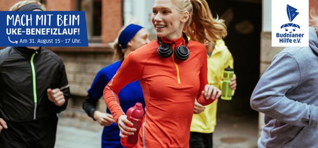 UKE Benefizlauf: Laufen & helfen in der BUDNIANER HILFE STAFFEL